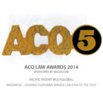 Award of Leading Customer Service Law Firm of the Year ACQ5 2014